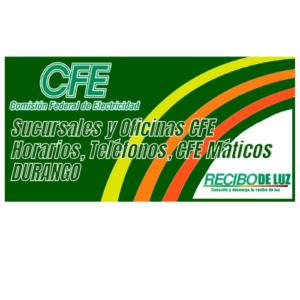 Sucursales-y-Oficinas-CFE-DURANGO